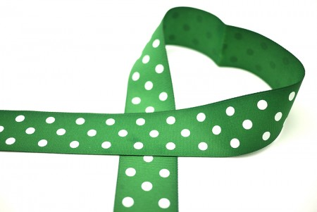 Polka Dots Wide Grosgrain Ribbon - Polka Dots Grosgrain Ribbon