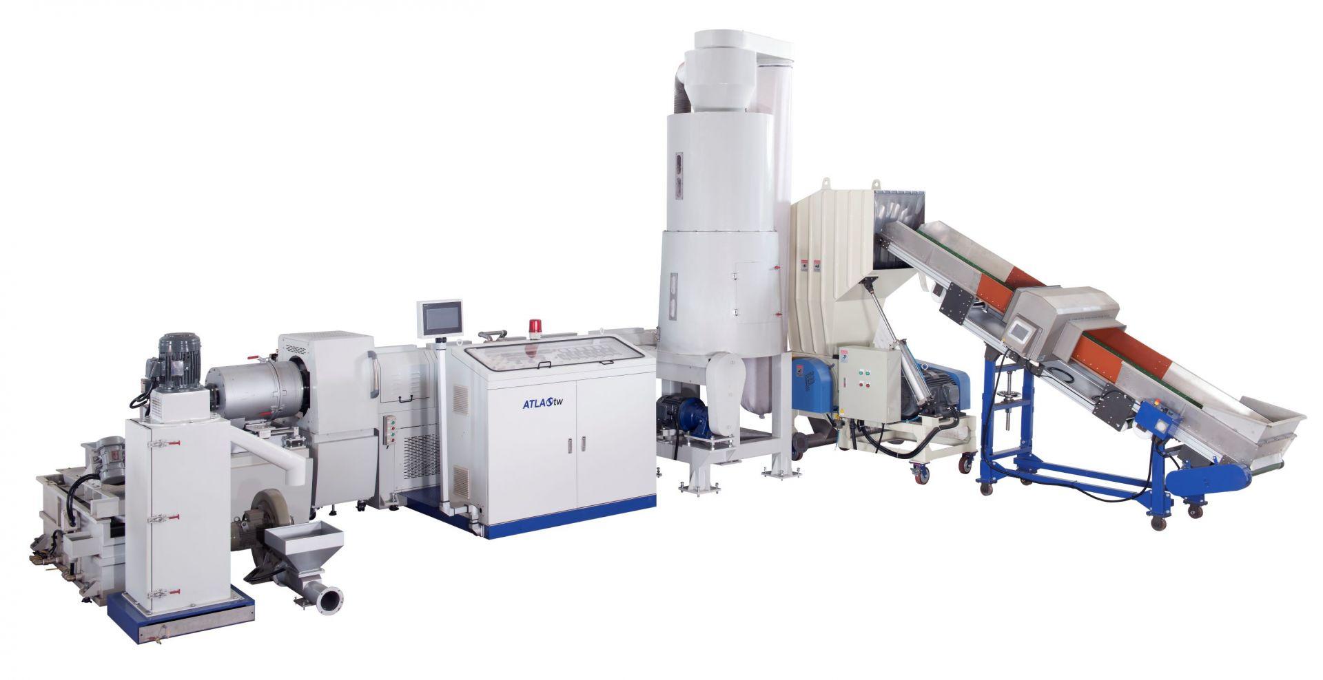 Mesin Peracikan Plastik Pengumpanan Samping