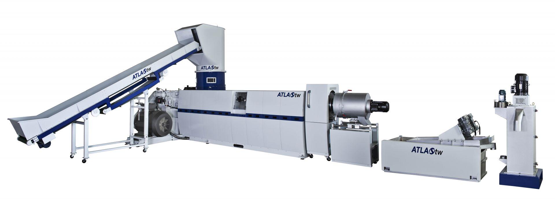 La machine de recyclage et de granulation de plastique intégrée au déchiqueteur 3-en-1 comprend le concasseur, l'extrudeuse et le granulateur, adaptés au recyclage des plastiques souples.