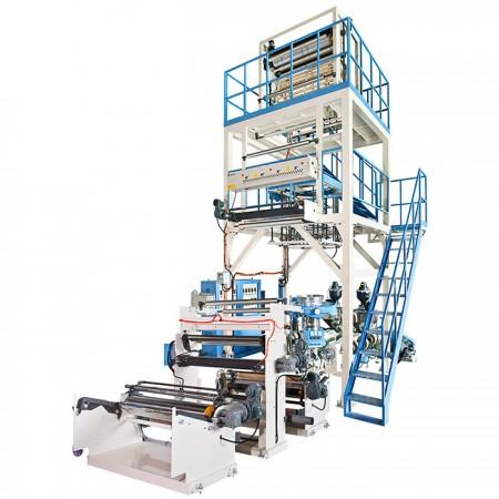 AB & ABA Co-Extrusion Blown Film Machine - AB & ABA Co-Extrusion Blown Film Machine