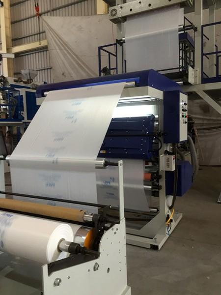 Printing Machine Connect with Blown Film Machine