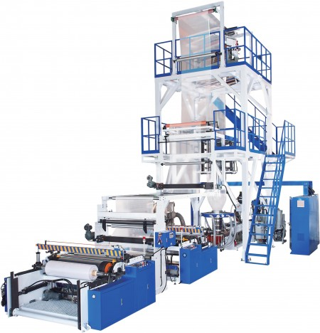 Oscillating Tower Two-layer AB / Three-layer ABA Blown Film Machine - Oscillating Tower Two-layer AB / Three-layer ABA Blown Film Machine