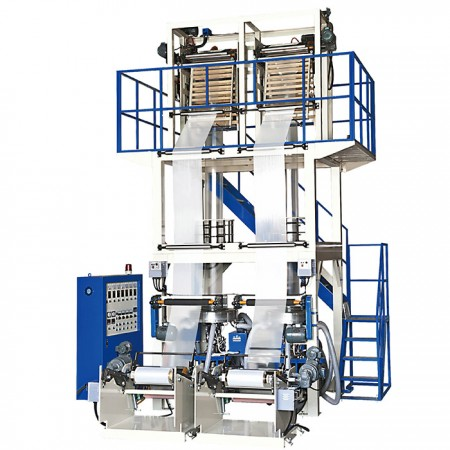 High-Speed Two-Head Mono-layer Blown Film Machine - High-Speed Two-Head Mono-layer Blown Film Machine