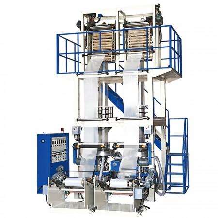 Mesin Blown Film Mono-layer Dua Kepala Berkecepatan Tinggi - Mesin Blown Film Mono-layer Dua Kepala Berkecepatan Tinggi