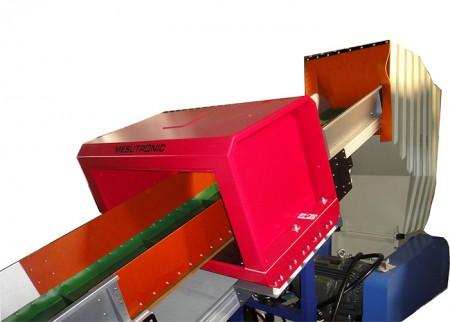 皮帶輸送帶 + 金屬檢測機