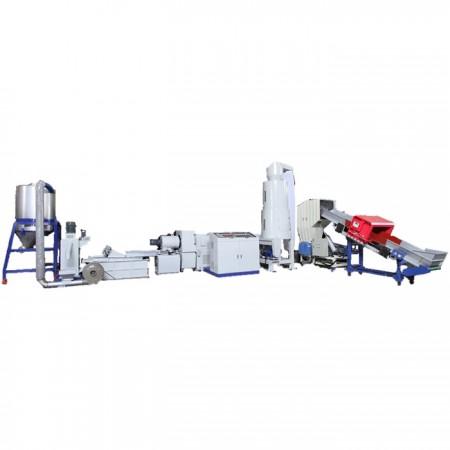 Machine de réutilisation en plastique de type alimentation latérale avec découpe de visage - Machine de réutilisation en plastique de type alimentation latérale avec découpe de visage