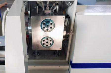 Changeur d'écran non-stop à double cylindre hydraulique