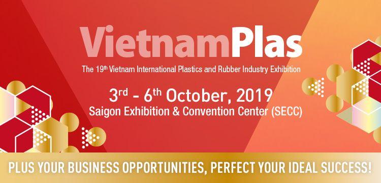 2019 越南橡塑膠展 造奕攤位 510