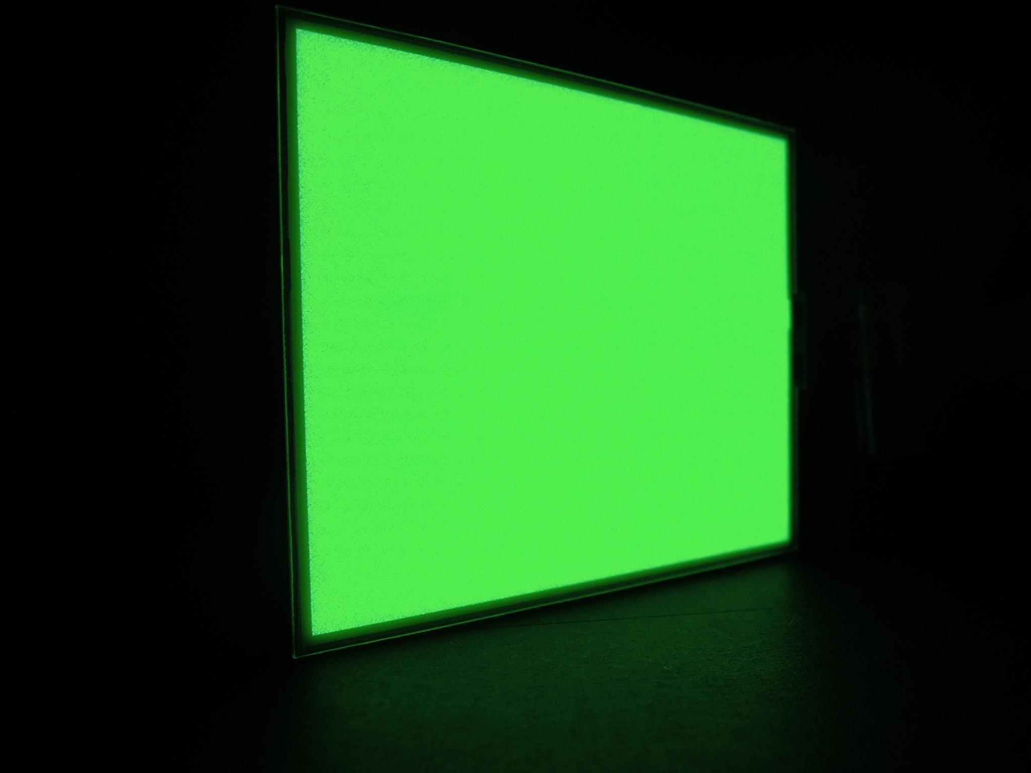 El panel for back light