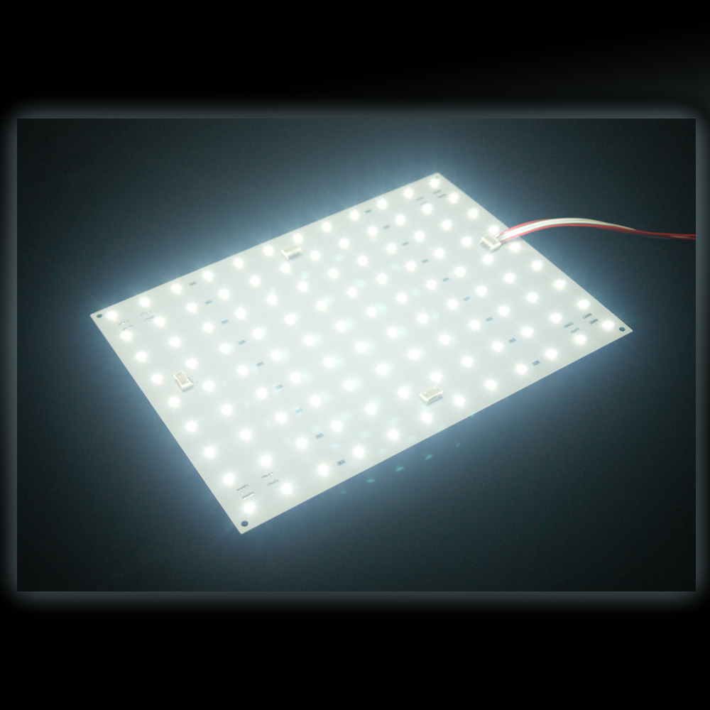 LED 平板灯与灯箱