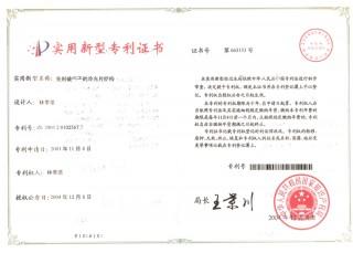 新型專利-免刺破端子之冷光片結構(中國) 2003 2 0102567.7