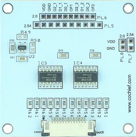 Touch-Switch-Lösung 36Tasten