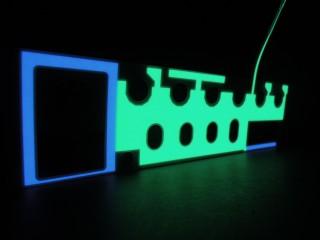 EL Backlight (Irregular Shape)