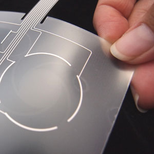 Sensor de toque flexível