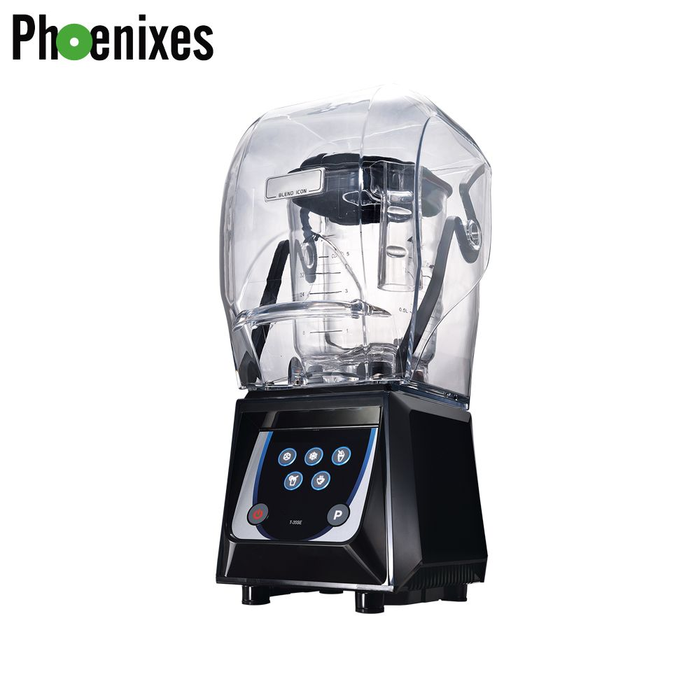 【5 in 1】Sound-proof blender