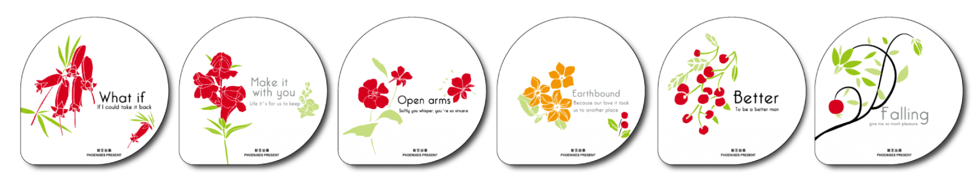 Standard paper film: Flower
