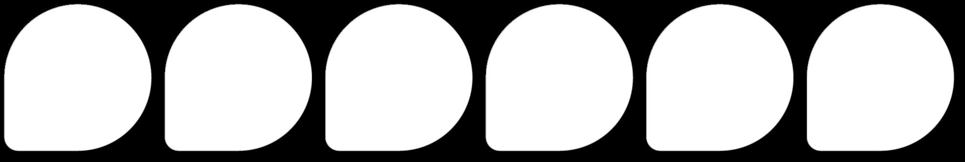 Standard paper film: White