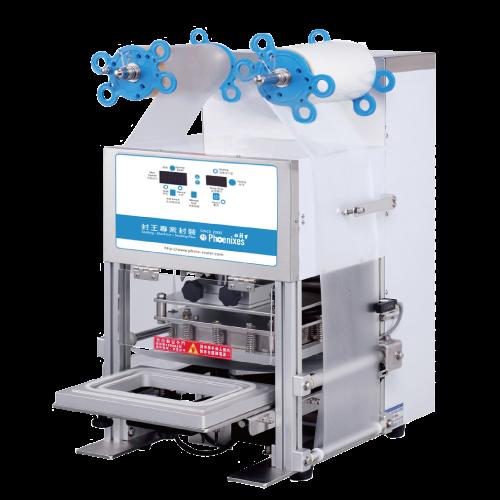 Automatic tray sealer machine