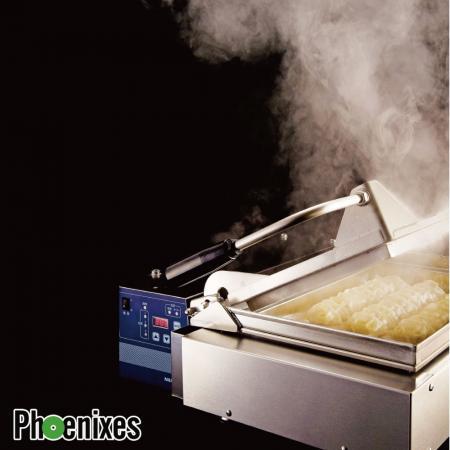Máquina de parrilla NAOMOTO Gyoza / Fried Dumpling - Parrilla NAOMOTO Gyoza