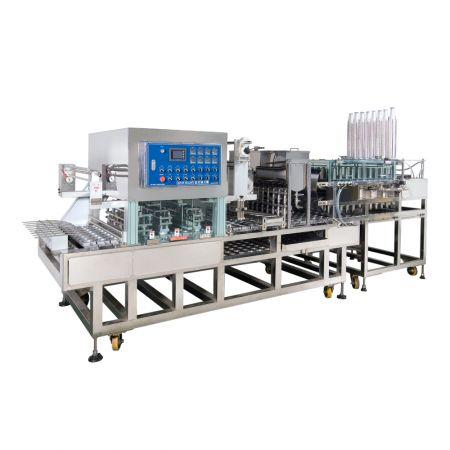 Máquina de selagem de linha de produção rotativa e contínua - Máquina Seladora Rotativa