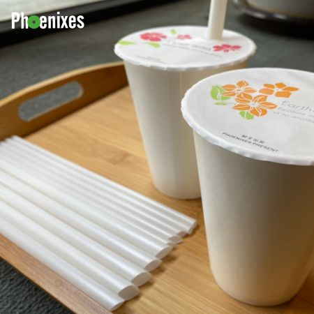 The First Biodegradable and Sustainable Eggshell Straw