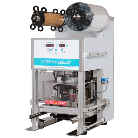 Air-compressor Tray Sealer- Sealing Machine