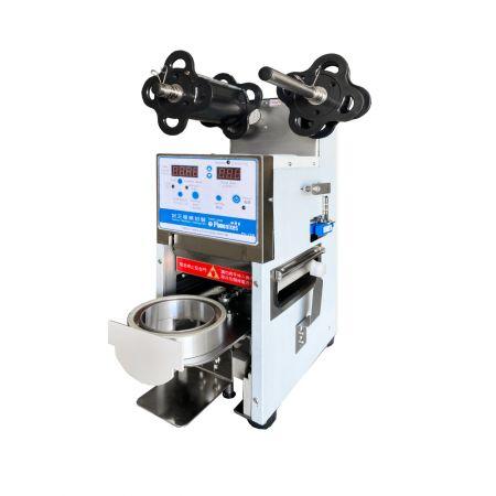 Hafif fincan mühürleyen makinesi - Kabarcık Çay Bardağı Kapatma Makinesi