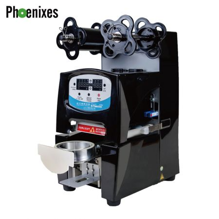 ABS cover cup sealer machine - ABS cover cup sealing machine