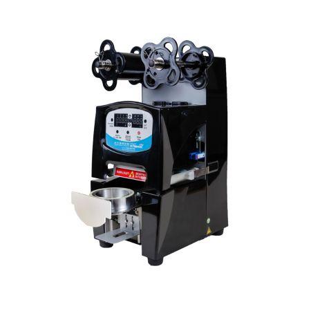 ABS kapaklı kap mühürleyen makinesi - ABS kapaklı bardak yapıştırma makinesi
