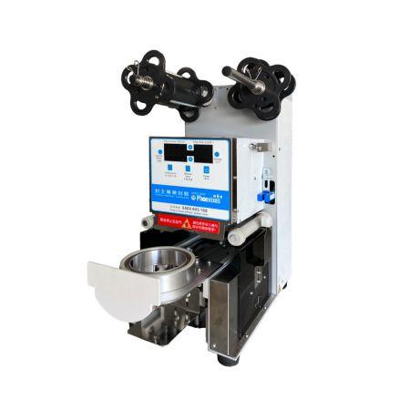 Máy dán cốc bán chạy nhất - máy (dán/ niêm phong)miệng cốc tự động