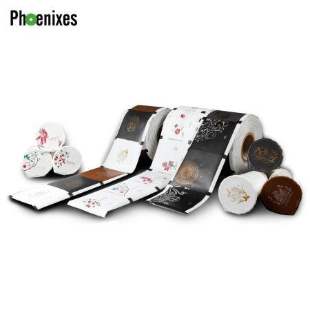 Papel kraft estándar vaso película de sellado - Películas de papel PHOENIXES