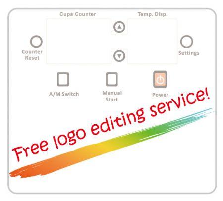 Serviço gratuito de edição de logotipo