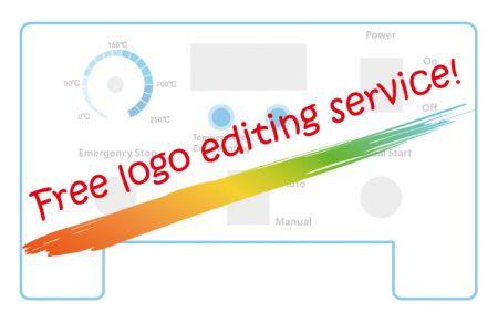 Free logo editing service