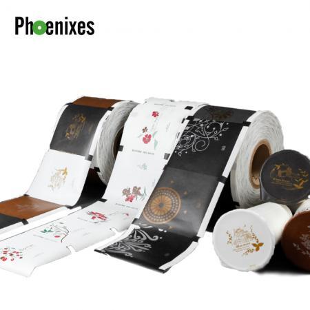 Films d'étanchéité - Films d'étanchéité pour gobelets avec différents matériaux