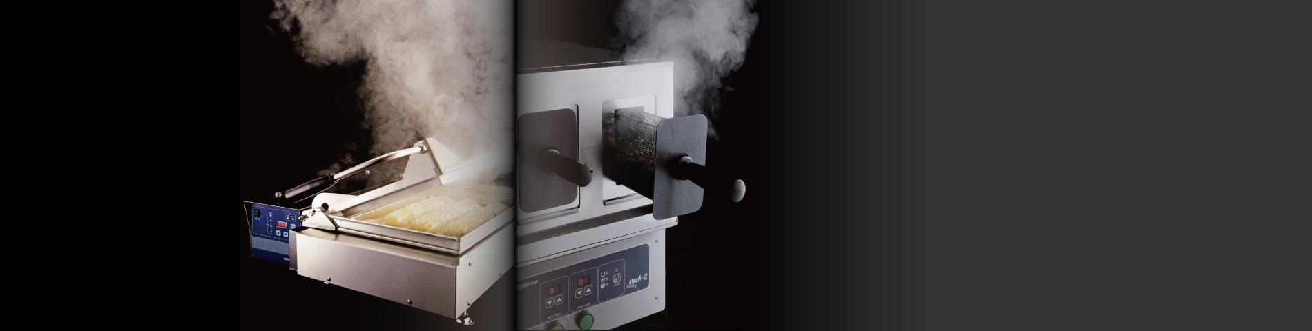 快速美味的料理美學 冷麵解凍機、煎餃機系列