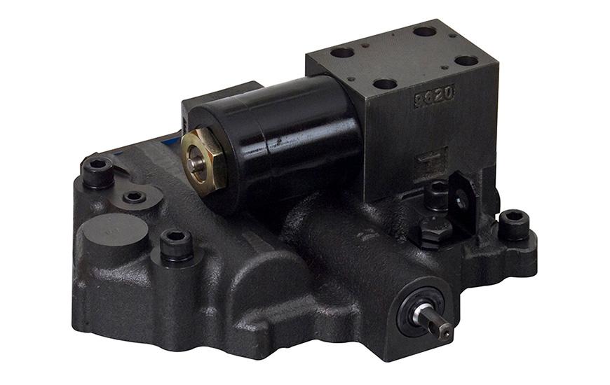 Válvula de control de transmisión de montacargas.