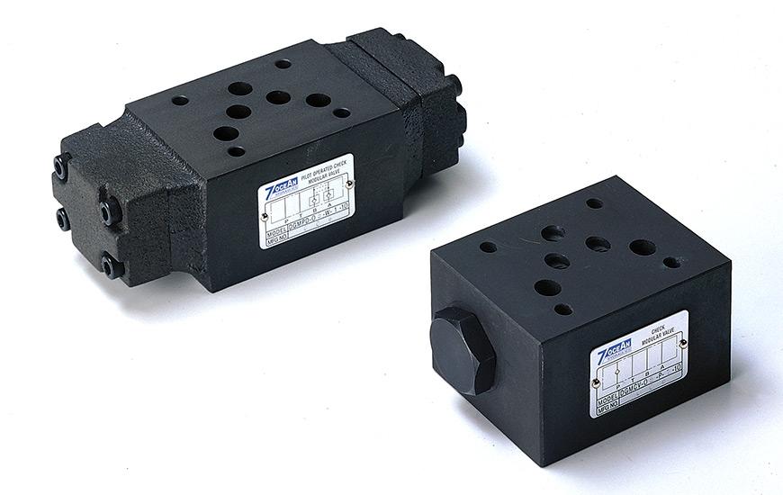 Válvula de retención de pila modular NG6 Cetop-3 D03.