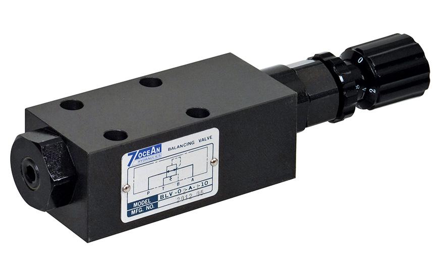 Zawór równoważący regulujący ciśnienie NG6/CETOP-3/D03.