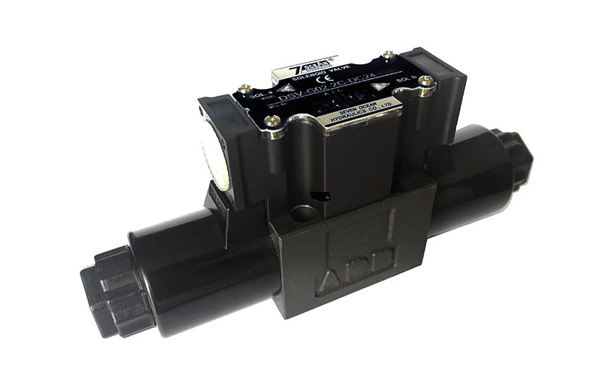 Válvulas de control direccional accionadas por solenoide NG6 Cetop-3 D03.