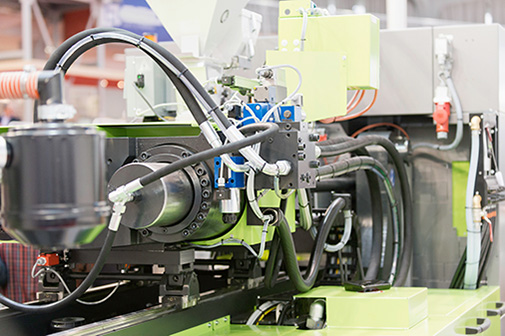 Hydraulics in Plastic Injection Molding.