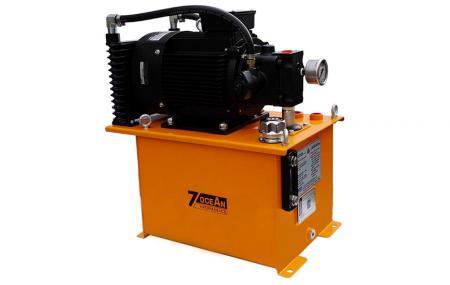 Kompaktowy agregat hydrauliczny - Kompaktowy agregat hydrauliczny.