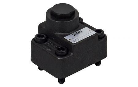 Zpětný ventil s pravým úhlem - Hydraulický pravoúhlý zpětný ventil.