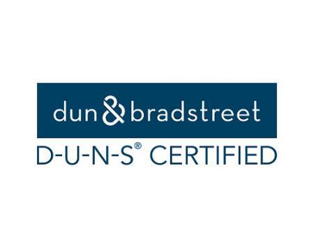 Společnost Seven Ocean Hydraulics obdržela číslo DUNS, které nás identifikuje jako jedinečnou společnost s dobrou úvěruschopností.