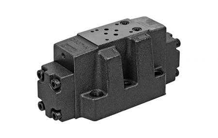 P07 / NG16 / CETOP-7 Pilotně ovládaný směrový ventil - Pilotně ovládaný směrový regulační ventil.