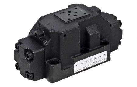 D08 / NG22 / CETOP-8 Válvula de controle direcional operada por piloto - Válvula de controle direcional operada por piloto.