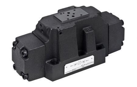 Válvula de controle direcional operada por piloto D08 / NG25 / CETOP-8 - Válvula de controle direcional operada por piloto.