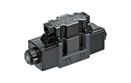 DSV-G03 Sterowany elektromagnetycznie kierunkowy zawór sterujący, przyłącze do skrzynki zaciskowej.