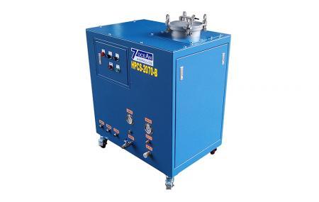 Układ chłodzenia pod wysokim ciśnieniem - System chłodziwa pod wysokim ciśnieniem do operacji cięcia, frezowania i wiercenia.