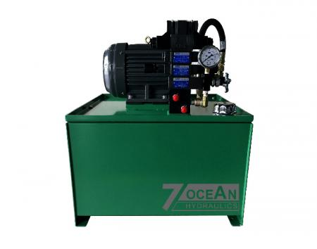 Hydraulic Power Unit Sample, this HPU is designed for Mill Roll Stand.