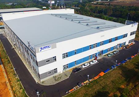 Továrna Seven Ocean Hydraulics Taiwan.